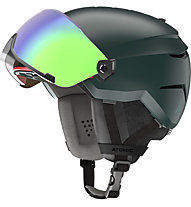 Atomic Savor Visor Stereo - casco sci alpino, Dark Green