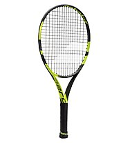 Babolat Pure Aero Jr 25 Tennisschläger Junior, Black/Yellow