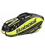 Babolat Racket Holder x6 Aero - borsa da tennis, Yellow/Black