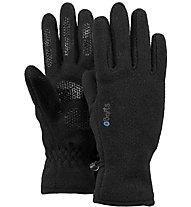 Barts Fleece Glove K - guanti in pile - bambino, Black