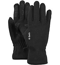 Barts Fleece Gloves - guanti in pile, Black