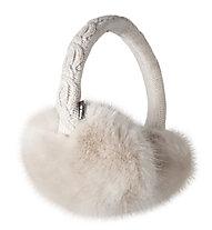 Barts Fur Earmuffs, White