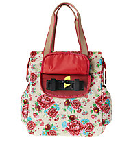 Basil Bloom Shopper, White/Gardenia
