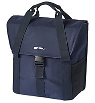 Basil Go Single Bag - borsa bici, Blue