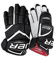 Bauer Vapor X 600 - guanti da hockey - bambino, Black/White