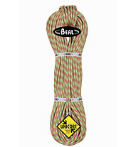 Beal Ice line 8,1 mm Unicore Golden Dry - corda arrampicata, Green