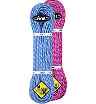 Beal Ice Line 8,1 Unicore Dry - Halbseil, Pink/Blue