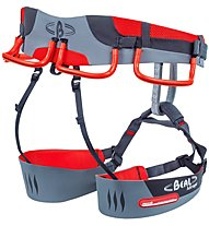 Beal Mirage Recco - Klettergurt, Red/Grey