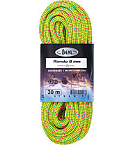 Beal Rando Golden Dry 8 mm - corda gemella, Yellow