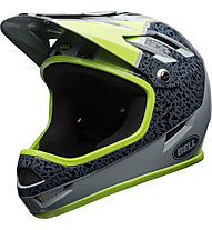 Bell Sanction - Fahrradhelm Fullface, Grey/Green