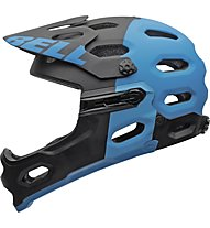 Bell Casco All Mountain/Enduro/Freeride/DH Super 2R Mips, Black/Blue