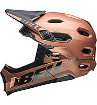Bell Super DH - casco bici full face, Brown