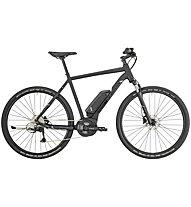Bergamont E Helix 6 Gent - bici da trekking elettrica - uomo, Black