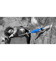 Beta Stick Beta Projekt Brush Stick - prolunga per spazzola da bouldering, Blue/Black