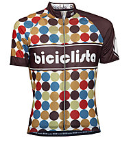 Biciclista 70's Power Radtrikot, Brown
