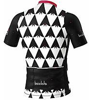 Biciclista Batman - Radtrikot - Herren, Black/White/Red