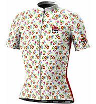 Biciclista Biancaneve - Radtrikot - Damen, White/Red