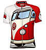 Biciclista Maglia bici Bully Is Da Van, White/Red