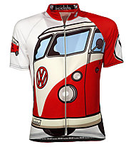 Biciclista Bully Is Da Van Radtrikot, White/Red