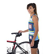 Biciclista Hollywood Party - Top Bike - Damen, White/Blue