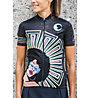 Biciclista I feel Love - maglia bici - donna, Black/Multicolor