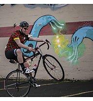 Biciclista Logo Short Bib Man - Radhose kurz - Herren, Black