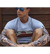 Biciclista Manicotti Maori, Rose/Blue