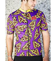 Biciclista Pizza - maglia bici - uomo, Violet/Yellow