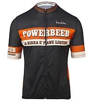 Biciclista Powerbeer 2.0 - Radtrikot - Herren, Brown/Red