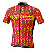 Biciclista Right-On Man Piccante Jersey - Radtrikot - Herren, Red