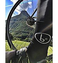 Biciclista Logo - calzini bici corti - uomo, Black