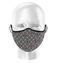 Biciclista Vortex - Gesichtsmaske, Black/White