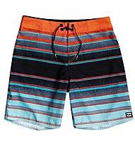 Billabong All Day Stripes OG - Badehose - Jungs , Blue/Orange