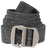 Bison Catch & Release Gunmetal Buckle Elastic Web - cintura, Grey