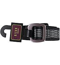 Bison Gun Metal Millennium Ladderlock Gürtel, Wire Mesh Charcoal