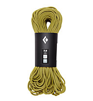 Black Diamond 7.0 Dry - Kletterseil, Yellow