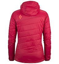 Black Diamond Access LT Hybrid Hoody donna, Rose Red