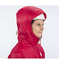 Black Diamond Access LT Hybrid Hoody Damen, Rose Red