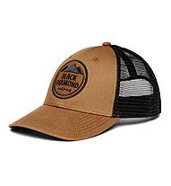 Black Diamond BD Low Profile Trucker - cappellino - uomo, Brown/Black