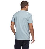 Black Diamond Cam - T-shirt - uomo, Light Blue