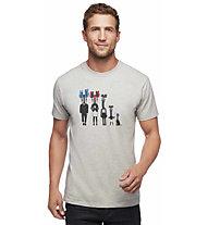 Black Diamond Cam Family - Shirt - Herren, Light Grey