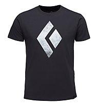Black Diamond Chalked Up - T-Shirt Klettern - Herren, Black