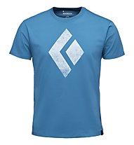 Black Diamond Chalked Up - T-Shirt Klettern - Herren, Blue