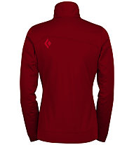 Black Diamond Coalesce - Softshelljacke Trekking - Damen, Red