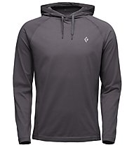 Black Diamond Crag - Kapuzenpullover - Herren, Dark Grey