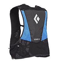 Black Diamond Distance 4 Hydration Vest - Runningrucksack, Blue