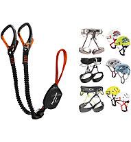 Black Diamond Kit bestehend aus Easy Rider Klettersteigset + Klettergurt und Helm deiner Wahl