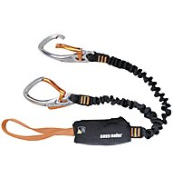 Black Diamond Easy Rider Via Ferrata Set, Black/BD Orange