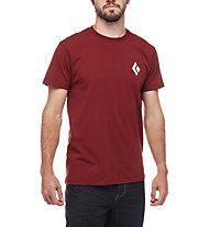 Black Diamond Equipment for Alpinists - T-Shirt arrampicata - uomo, Red