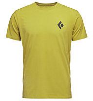 Black Diamond Equipment for Alpinists - T-Shirt arrampicata - uomo, Yellow